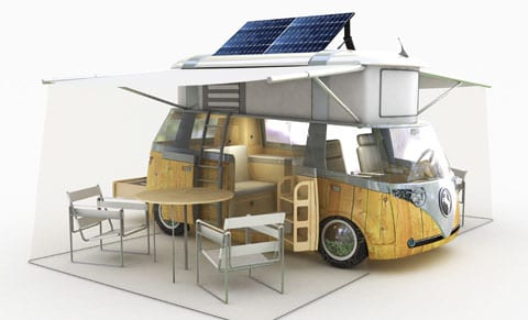 do solar panels on motorhomes work